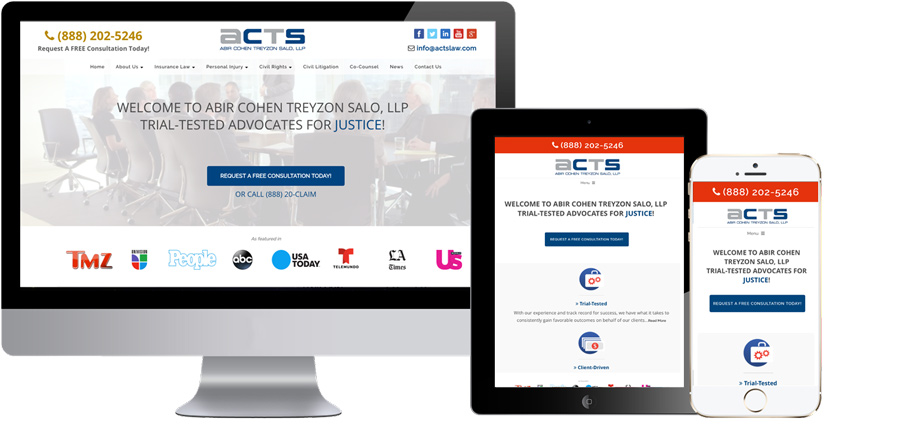 ACTS Launches New Website