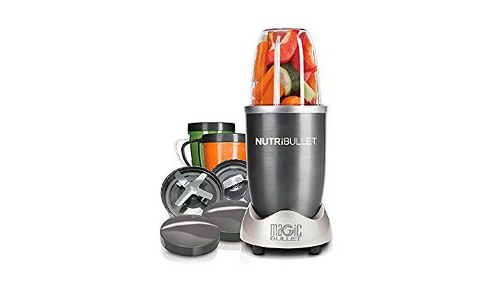 NUTRIBULLET SUED IT CHOPPED MY TOMATOES AND MY HAND