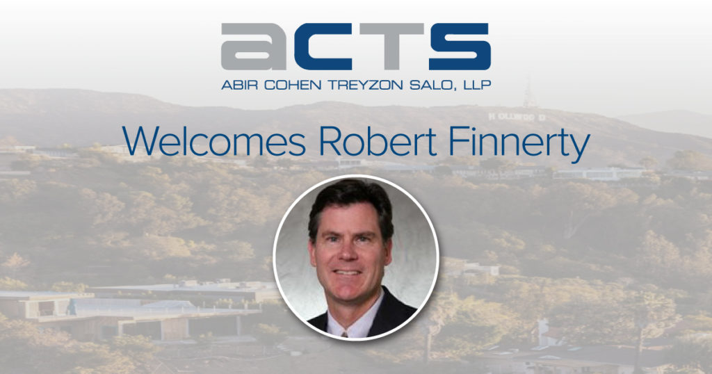Attorney Robert Finnerty Joins ACTS Law